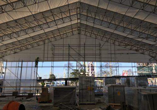 Statybviečių apsauga XL Keder roof